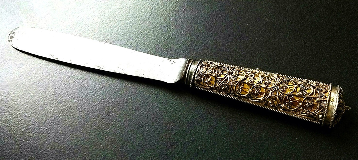 Antique               Swedish Circumcision Knife